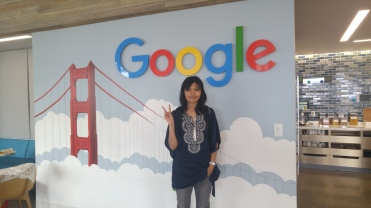 Google's SF office has an awesome mural of the Golden Gate Bridge